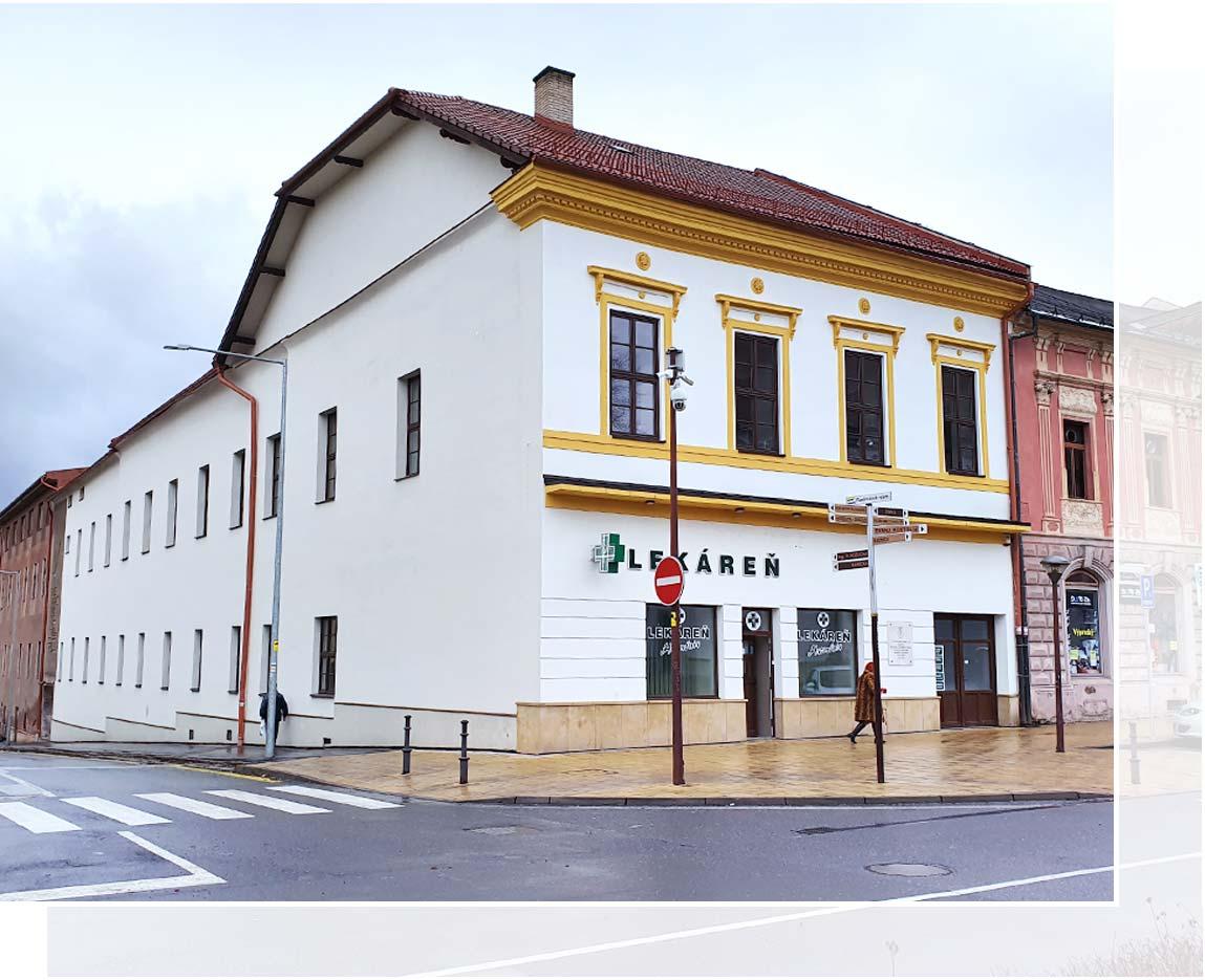 Statstav - Rekonštrukcia fasády – Spišská Nová Ves